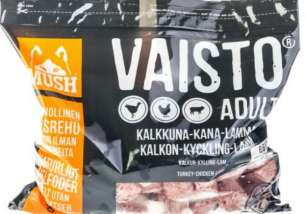 Mush Vaisto Grå Kalkon-kyckling-lamm-måltid 3 kg
